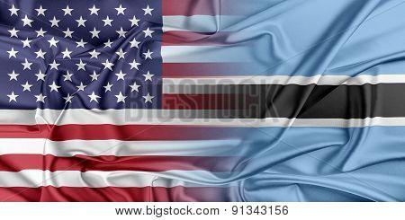 USA and Botswana