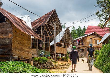 Exploring Traditional Village In Tana Toraja