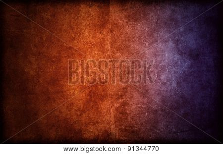 Highly Detailed Dark Background Texture With Color Gradient