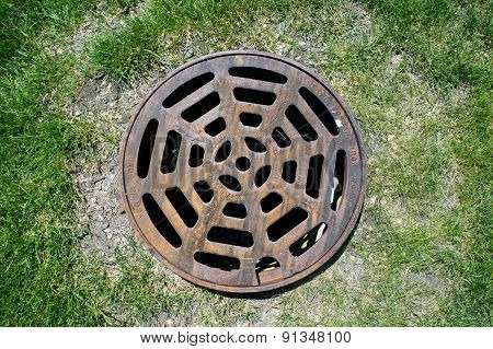 Round Storm Drain Cover