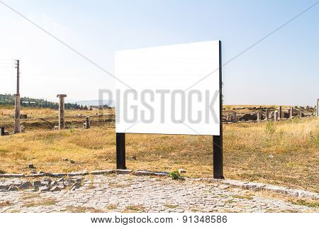Blank Clear Billboard