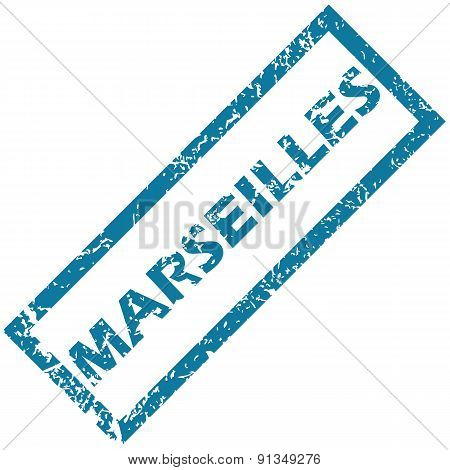 Marseilles rubber stamp
