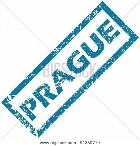 Prague rubber stamp