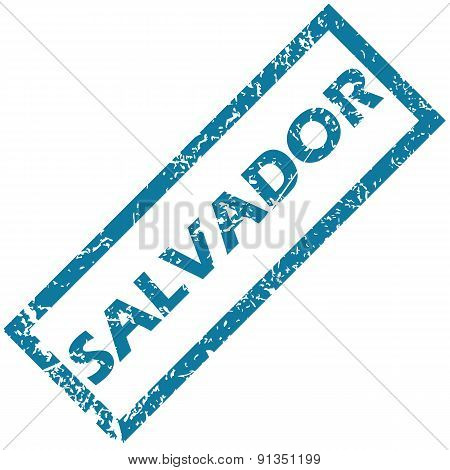 Salvador rubber stamp