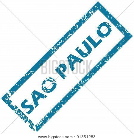 Sao Paulo rubber stamp