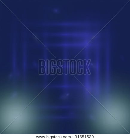 Abstract blue blur background design template