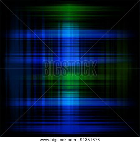 Futuristic technology green blue and black background design grid