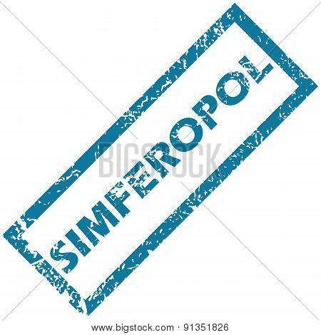 Simferopol rubber stamp