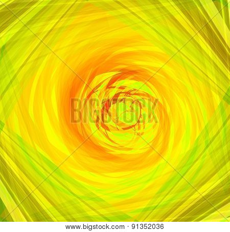 Twist Abstract yellow background design template