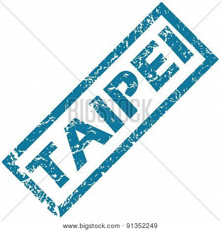 Taipei rubber stamp