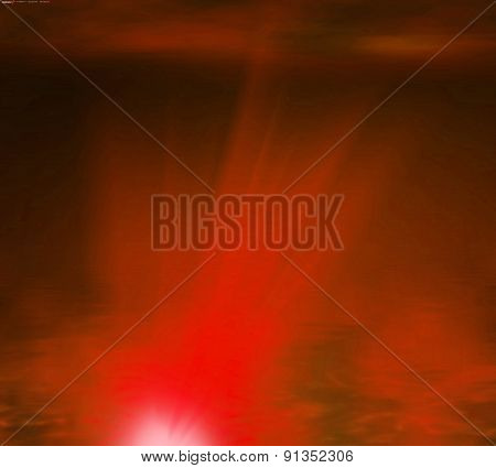 Abstract red rays light background