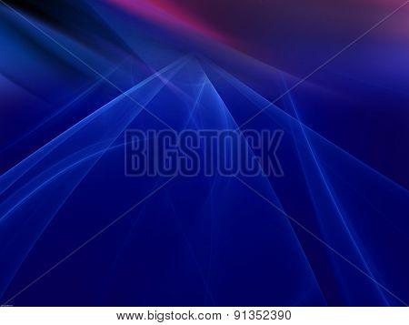 Dark blue rays light blur background