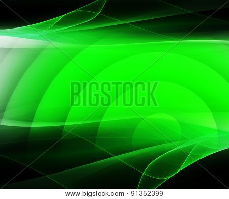 Green Background design, abstract backdrop