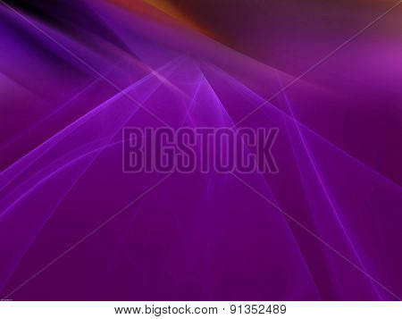 Purple background with rays light blur