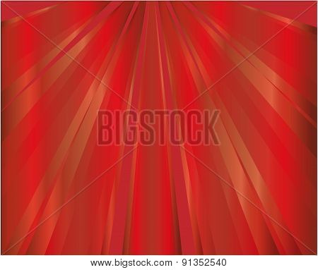 Red rays background design illustration template
