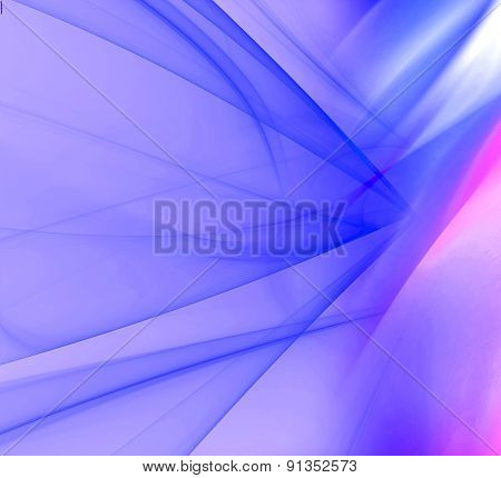 Soft abstract blue background design illustration template