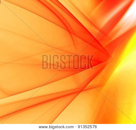 Soft abstract orange background design illustration template