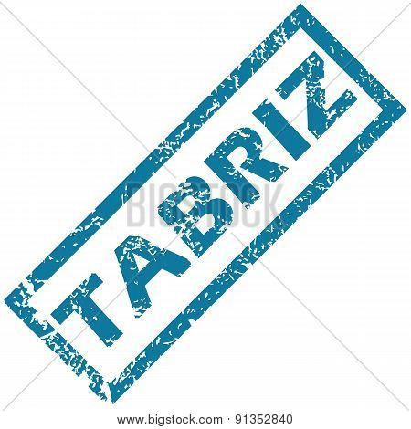 Tabriz rubber stamp