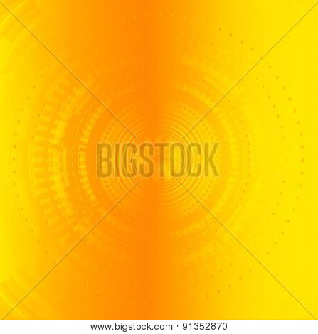 Circle yellow Background Creative Design