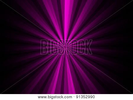 Purple digital light on black background