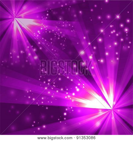Two burst light purple Background