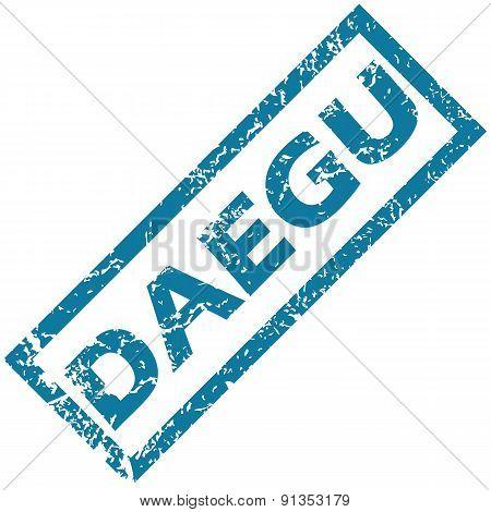 Daegu rubber stamp