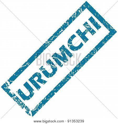 Urumchi rubber stamp