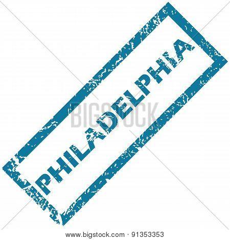 Philadelphia rubber stamp