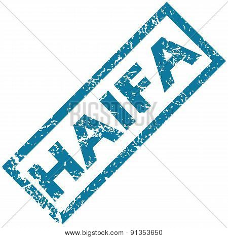 Haifa rubber stamp