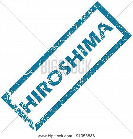Hiroshima rubber stamp