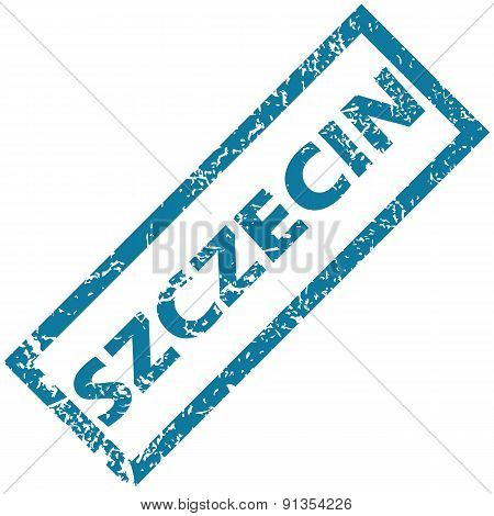 Szczecin rubber stamp
