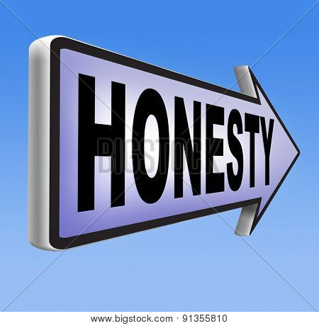 honesty leads a long way finding justice search truth be honest