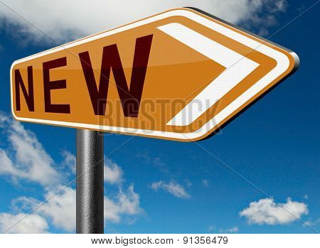 brand new series of look release collection and fresh start and beginning in career and job