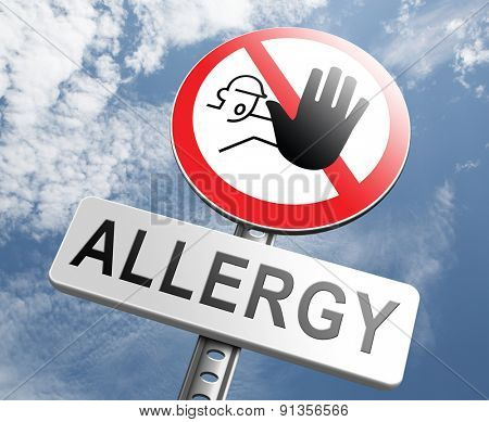 Allergy stop allergies and allergic reactions hypersensitivity disorder of the immune system  asthma attack hay fever