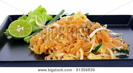 Thai Food Pad Thai , Stir Fry Noodles