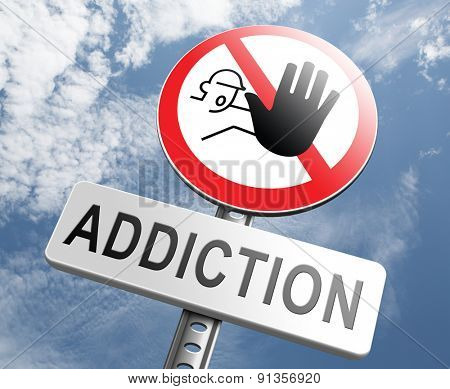 stop addiction drug and alcohol prevention rehabilitation warning sign pain killer or tranquilizer addict
