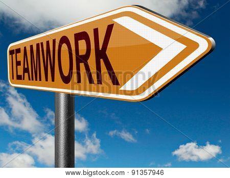 teamwork cooparation team working together concept