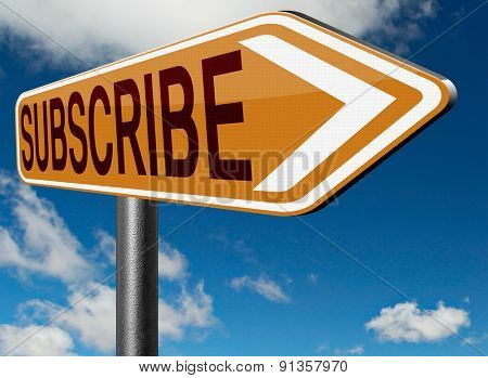 subscribe now and become a online member free membership