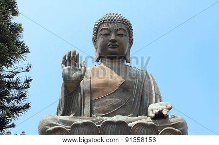 The Big Buddha of Hong Kong