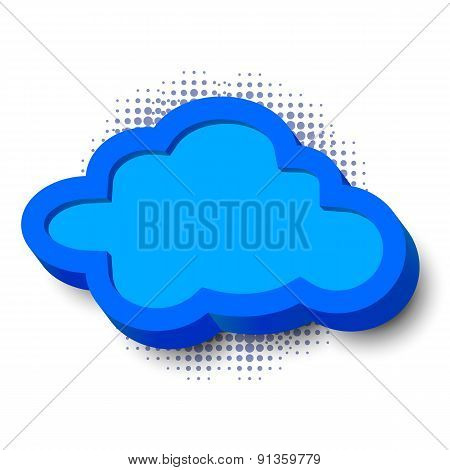 3d cloud frame