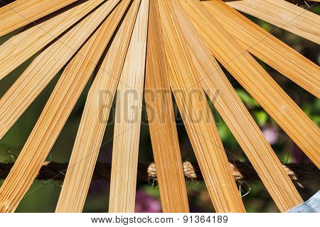Fan Made From Bamboo