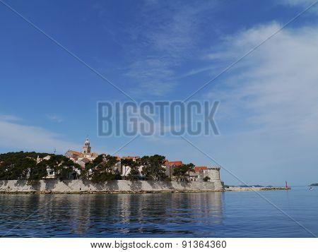 The old town Kocula in Croatia