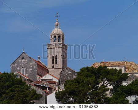 The old town Korcula in Croatia