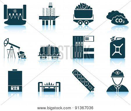 Set Of Energy Icon