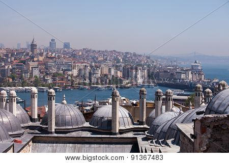 View across the Golden Horn, Istanbul