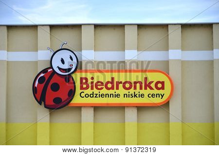 sign of Biedronka
