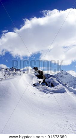Snow Alps Mountains