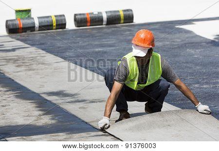 Highway Workers Waterproof Bridge