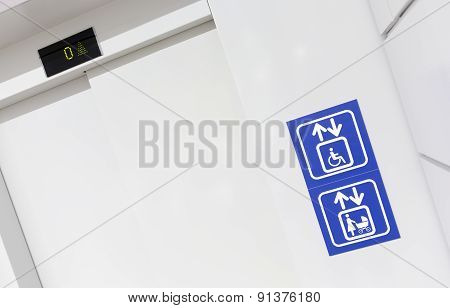 Elevator For Mothers And Physically Disabled