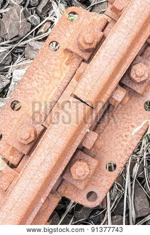 Bolts Rusted Tracks